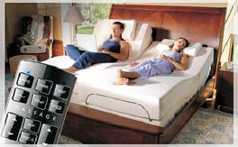 Adjustable Bed With Massage & Wireless Remote