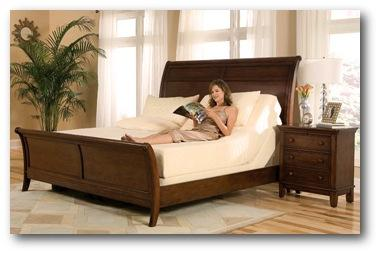 adjustable bed in sleigh bed frame - Bed Frames For Adjustable Beds
